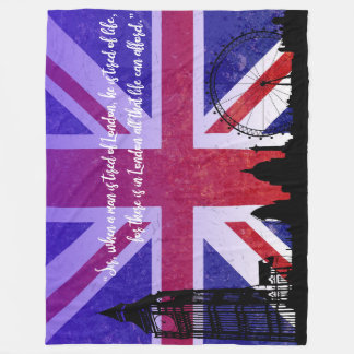 London Love Blanket