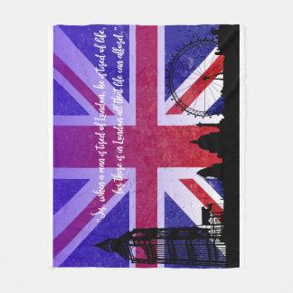 London Love Blanket Medium