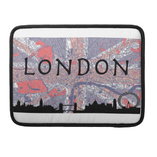 London Macbook Bag Sleeve For MacBook Pro