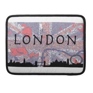 London Macbook Bag Sleeves For MacBook Pro