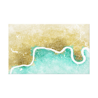 London Map #1 Canvas Print