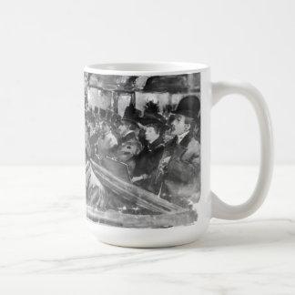 London Music Hall Orchestra Pit 1890 Coffee Mug