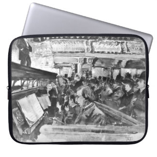London Music Hall Orchestra Pit 1890 Laptop Computer Sleeves