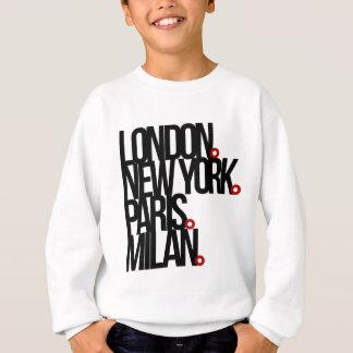 London New York Paris Milan Sweatshirt