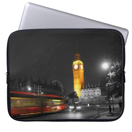 london night laptop sleeve