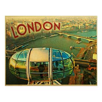 London Panorama Postcard