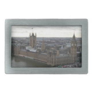 London Parliement Building & Big Ben Belt Buckle
