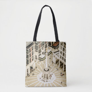 London Paternoster Square Tote Bag