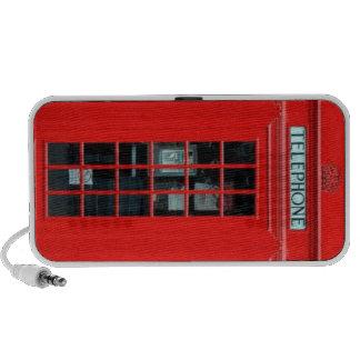 London Phone Booth Doodle Speaker