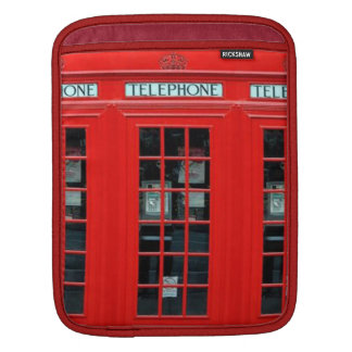 London Phone Booth iPad Sleeve