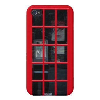 LONDON PHONE BOOTH iPhone 4/4S COVER