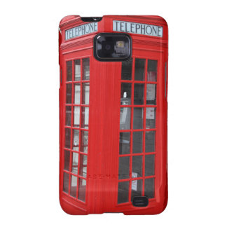 London Phone Booth iPhone Cases Samsung Galaxy S2 Case