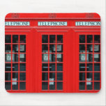 London Phone Booth Mouse Pad