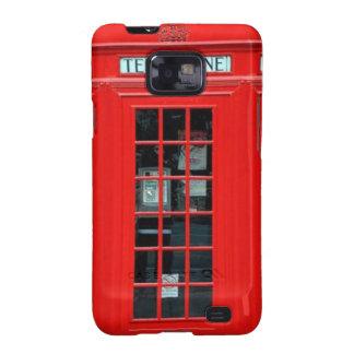 London Phone Booth Samsung Galaxy S Case Samsung Galaxy S2 Cases