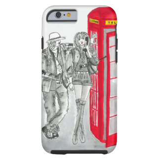 London Phone Booth Tough iPhone 6 Case