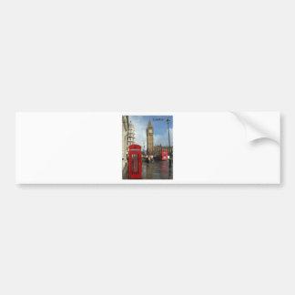 London Phone box Big Ben St K Bumper Sticker