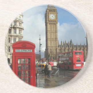 London Phone box & Big Ben (St.K) Coaster