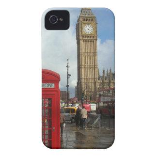 London Phone box & Big Ben (St.K) iPhone 4 Case-Mate Case
