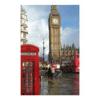 London Phone box & Big Ben (St.K) Stationery