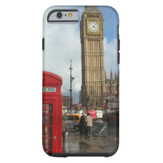London Phone box & Big Ben (St.K) Tough iPhone 6 Case