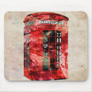 London Phone Box Mousemats