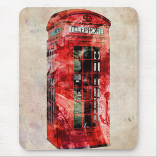 London Phone Box Mouse Pad