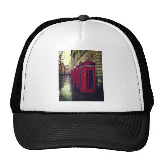 London phone boxes cap