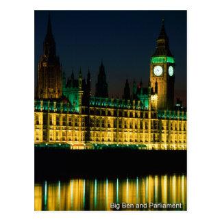 london postcard 03 Big ben