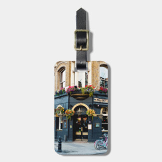 London Pub Luggage Tag