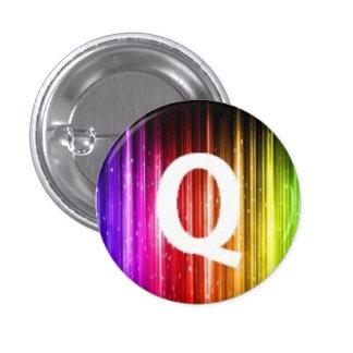 London Queers mini badge Q