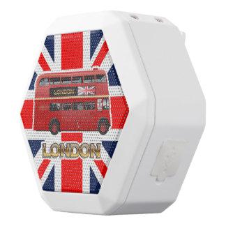 London Red Bus White Boombot Rex Bluetooth Speaker