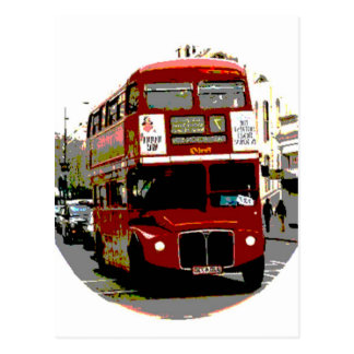 London Red Bus Routemaster Buses Postcards