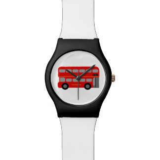 London Red Bus Watches