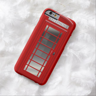 London Red Phone Booth  Call Box Barely There iPhone 6 Case