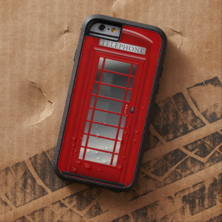 London Red Phone Booth  Call Box Tough Xtreme iPhone 6 Case