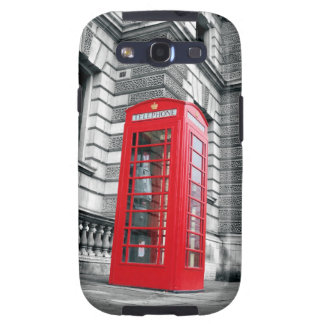 London Red Phone Booth Galaxy S3 Case