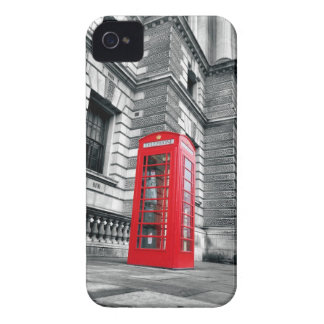 London Red Phone Booth iPhone4 Case iPhone 4 Case-Mate Cases