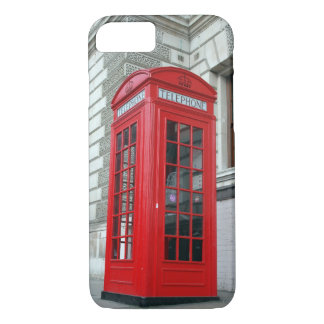 London Red Phone Box iPhone 7 Cover