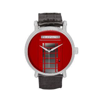 London Red Phone CallBox Watch