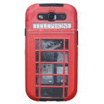 London Red Telephone Box Galaxy S3 Cover