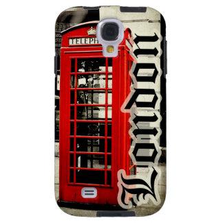 London Red Telephone Box Samsung Galaxy S4, Vibe Galaxy S4 Case