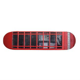 London Red Telephone Box Skateboard Decks