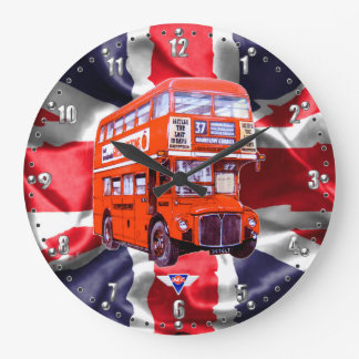 London Routemaster Bus Wall Clock