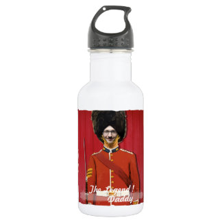 London Royal Britain Guard - with YOUR Photo -Tex 532 Ml Water Bottle