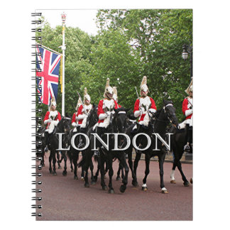 London: Royal Household Cavalry Spiral Notebooks