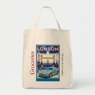 London Scene Grocery Tote