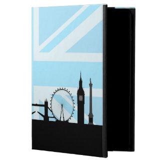 London Sites Skyline and Blue Union Jack/Flag iPad Air Covers