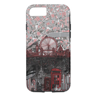 london skyline abstract iPhone 8/7 case