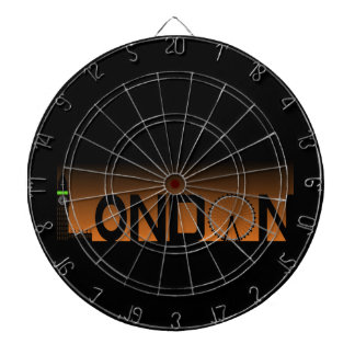 London skyline dartboard