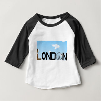 London Skyline Daytime Baby T-Shirt